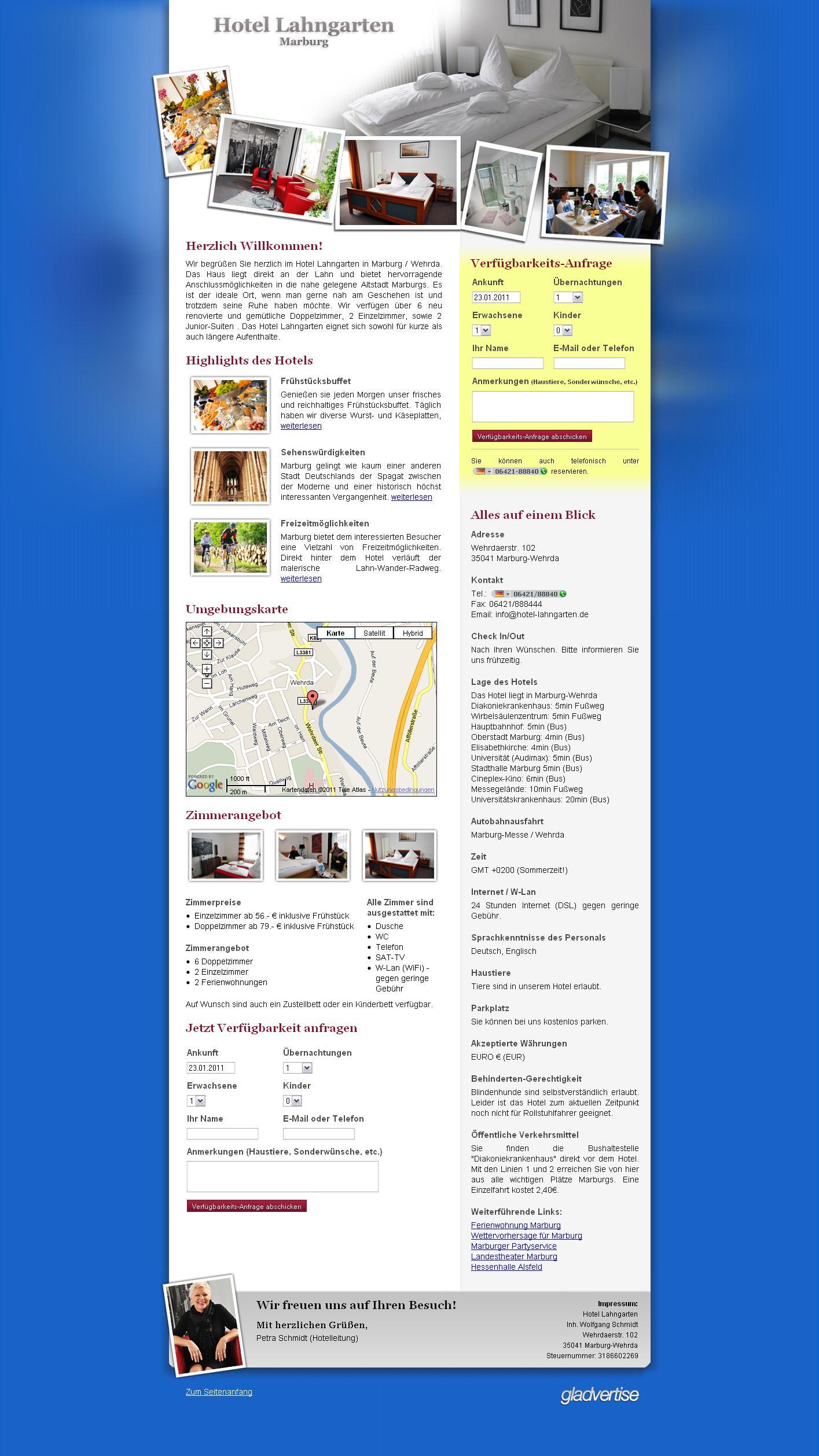 Kundenvorstellung Hotel Lahngarten