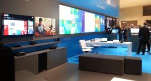 Microsoft-Stand auf der CeBIT